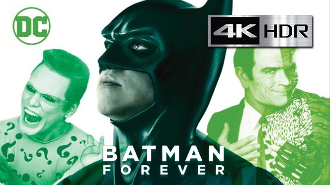 Batman Eternamente (1995) 4K UHD [HDR] Latino-Castellano-Ingles