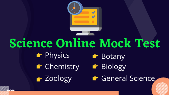 Science Online Mock Test fully Free