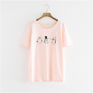 Storyland short-sleeve printed t-shirt, USD 11.61 from YesStyle
