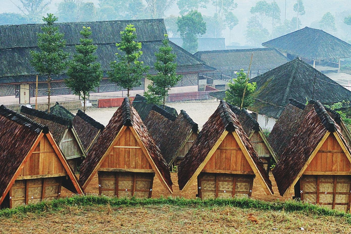 Suasana Di Kampung Wisata Adat Ciptagelar Sukabumi