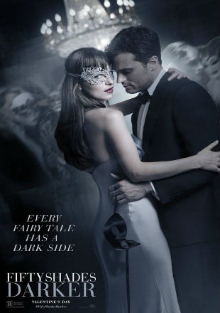 Poster of Fifty Shades Darker (2017) English Movie Download HDRip 480p 300Mb