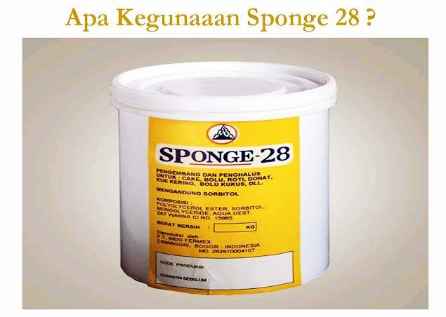 Apa Itu Sponge 28 Kegunaan Bahan Pembuat Kue Ayo Belajar