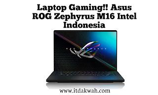 Asus ROG Zephyrus M16 Intel 2021