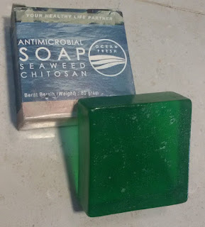 Antimicrobial Seaweed Chitosan Soap