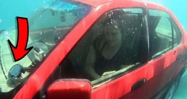 Αν βρίσκεστε σε αμάξι που βυθίζεται, πρέπει να κάνετε Αυτό για να σωθείτε. Δεν είχαμε ιδέα! (BINTEO)