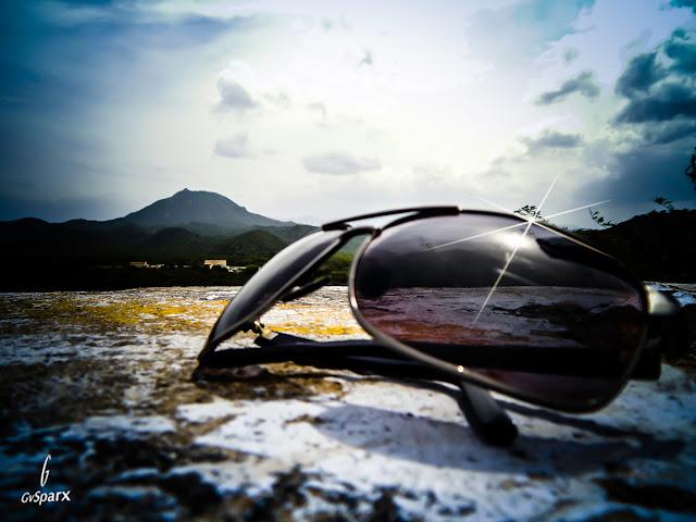 Shades, hills, clouds en route hogenakkal falls tamil nadu