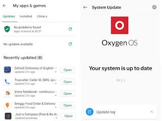 تطبيقات اندرويد Oxygen