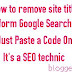How to Remove Site Title in Google Search