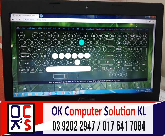 [SOLVED] MASALAH KEYBOARD ASUS X45U | REPAIR LAPTOP CHERAS 2