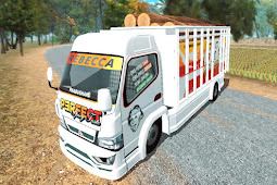 Livery Simple Taste, Perfect BR-T Bandar Rawit Bak Fixed ES Truck Simulator ID
