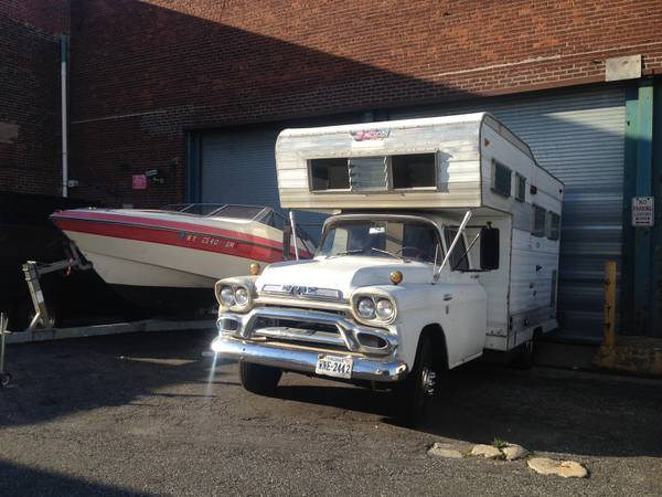 Used RVs Rare 1958 GMC Factory Camper For Sale by Owner