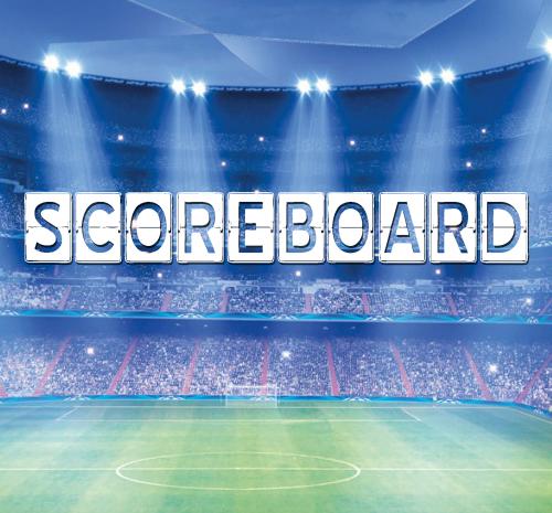 Font Commercial Gratis Terbaru Untuk Desainer Grafis - Scoreboard Free Font