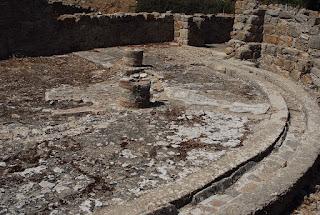 latrines villa Casale