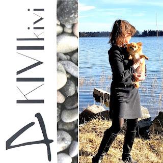 Riitta Reissaa ja suomalainen KIVIkivi merinovillamekko