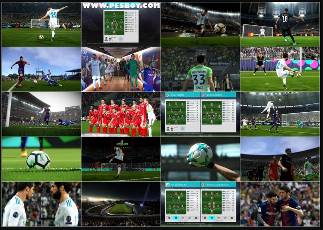 PES Patch 2018 Professionals V1 Season 2018