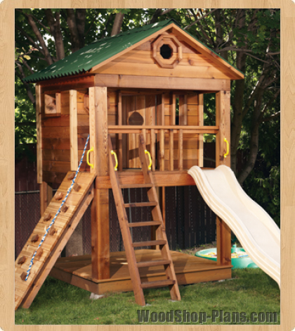 Diy girls and boys playhouse designs for backyard bahay ofw for Plans for childrens playhouse