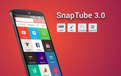 تحميل تطبيق Snaptube لتنزيل مقاطع الفيديو على الأندرويد