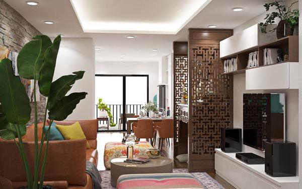 Nội thất thiết kế dành cho nhà chung cư đẹp xu hướng hiện nay