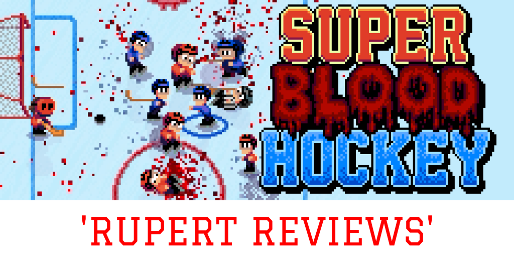 Super Blood Hockey Review Nintendo Switch Overtones Of The