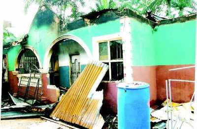 Bible Remains Intact As Fire Razes Businessman's House