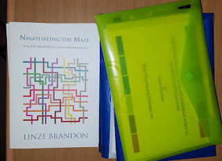 course materials, Negotiating the Maze, Linzé Brandon, course about writer's life