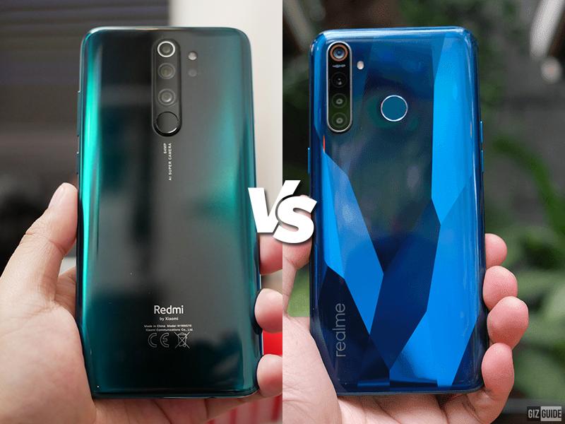 Redmi Note 8 Pro vs realme 5 Pro Specs Comparison
