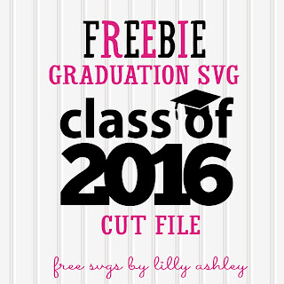 Freebie Graduation SVG cut file