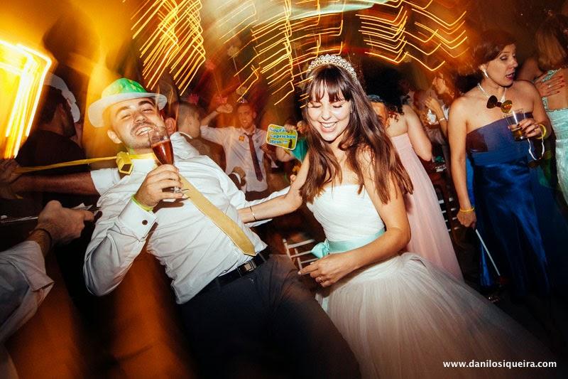 noivos - festa - recepcao - pista danca