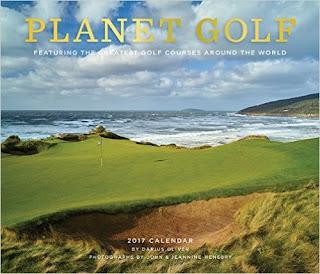 Planet Golf 2017 Wall Calendar PDF