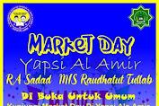 Tanamkan Jiwa Wirausaha Sejak Dini, MIS Raudhatut Thullab Yapsi Al-Amir Gelar Market Day