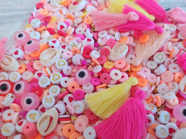 DIY : Perles Heishi mélange de perles