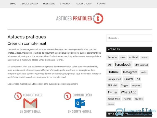Le site du jour : AstucesPratiques.org