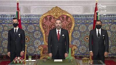 الملك محمد السادس نصره الله يؤكد عودة العلاقات الثنائية المغربية الاسبانية لسابق عهدها باشراف شخصي منه