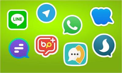 استخدم, تطبيقات, الدردشة, الآمنة, والموثوقة