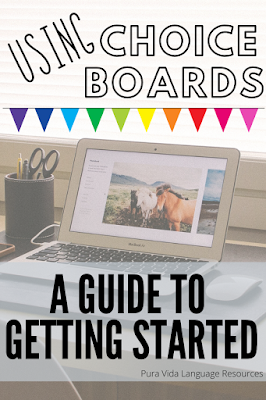 Choice Boards: A Guide to Getting Started