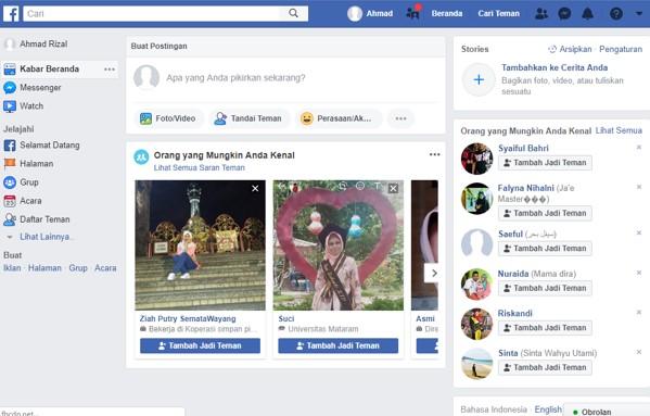 Cara membuat Facebook dengan mudah dan cepat melalui HP atau Laptop