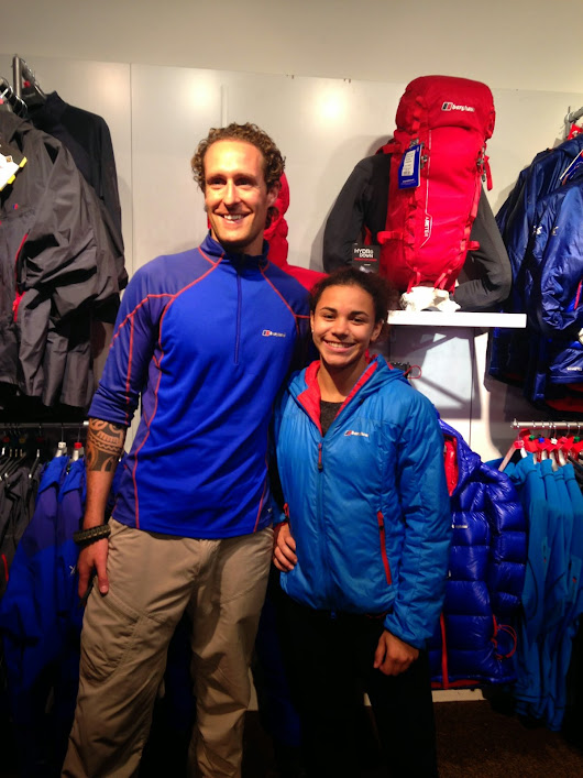 A Visit to the Covent Garden Berghaus Store