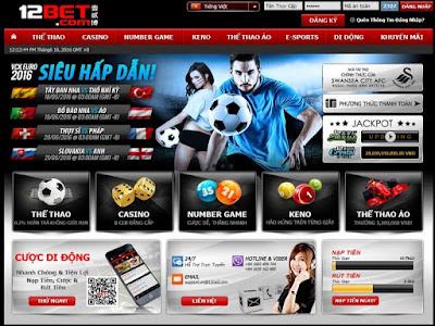 Hướng dẫn cách cá độ bóng đá online hợp pháp tại 12bet