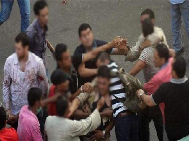 بسبب خلافات الجيرة اصابة 5 أشخاص فى مشاجرة بالاسلحه النارية فى سوهاج