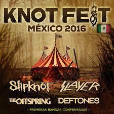 Regreso a  México el KnotFests  Considerado el mejor festival.