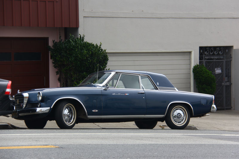 California Streets San Francisco Street Sighting 1964 Studebaker Gran Turismo Hawk R1