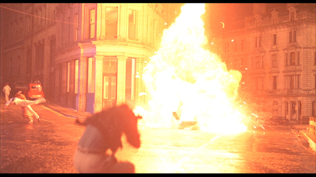 A big explosion