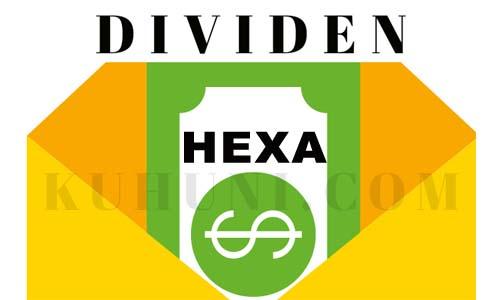jadwal dividen hexa