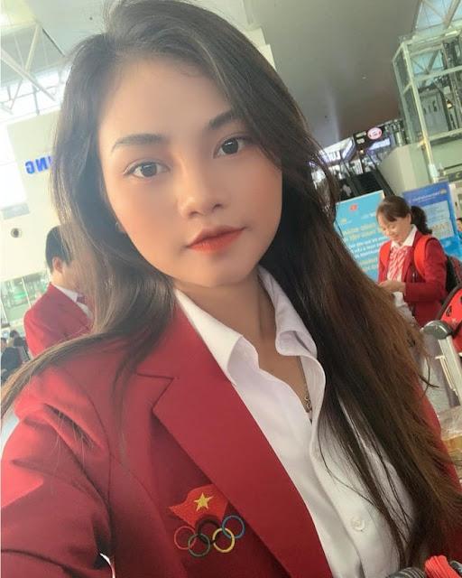 Nhan sắc Hotgirl của bác sĩ vật lí trị liệu trong Đoàn thể thao Việt Nam dự SEA Games 30 - 2