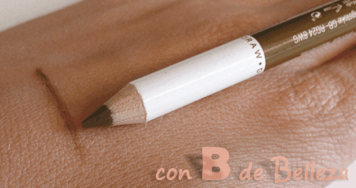 Swatch blonde moments cejas