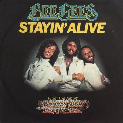 Stayin Alive Lyrics - Bee Gees