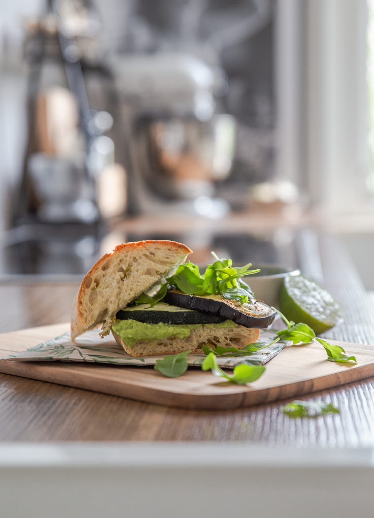 Rezept Grillgemüse-Sandwich