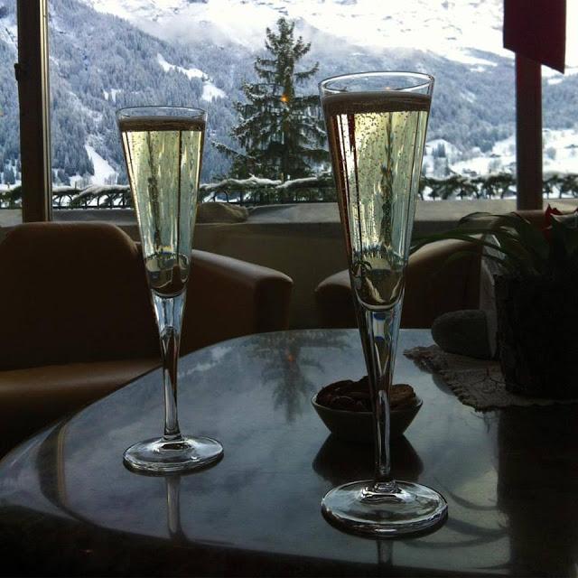 Hotel Belvedere Grindelwald Welcome Drink
