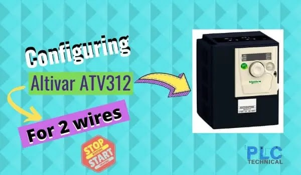 Configuring the Altivar ATV312 variable speed drive