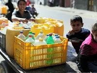 以色列切断水路以移动巴勒斯坦人